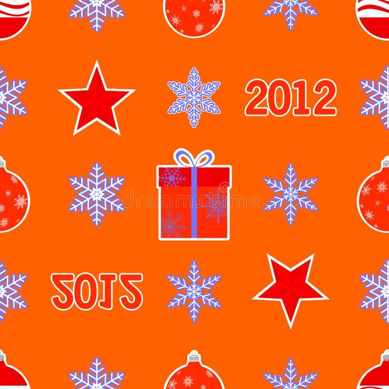 Nahtloses Weihnachtsmuster. vektor abbildung