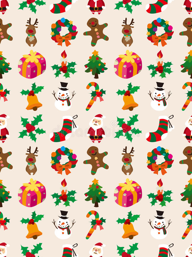 Download Nahtloses Weihnachtsmuster vektor abbildung. Illustration von luxus - 27733079