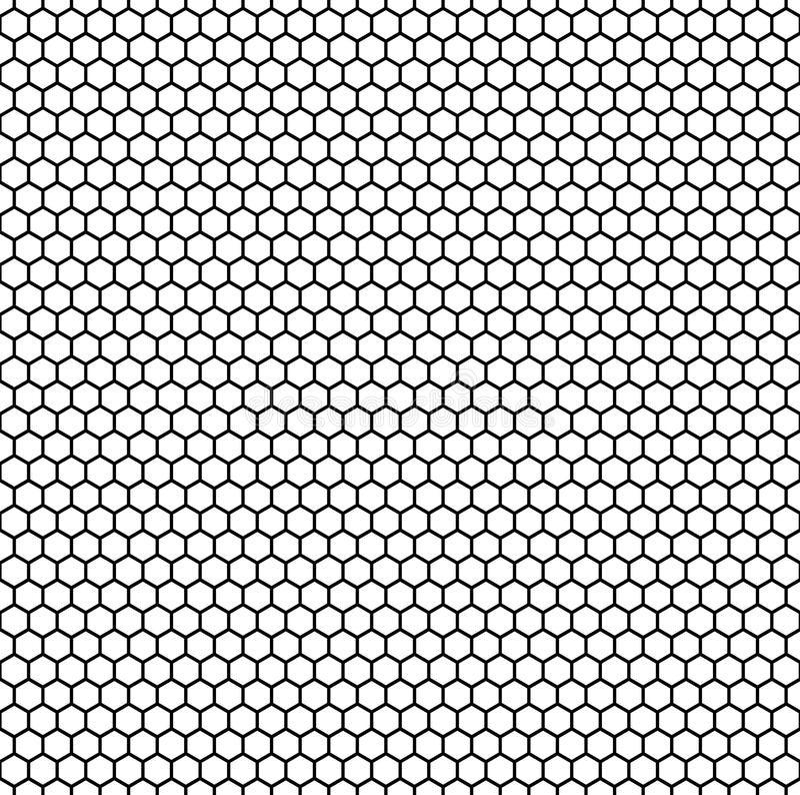 Nahtloses, wiederholbares Muster/Hintergrund mit Achteck formt lizenzfreie abbildung