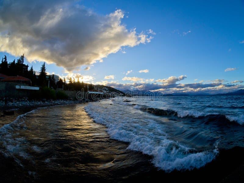 Nahuel Huapi湖 免版税图库摄影