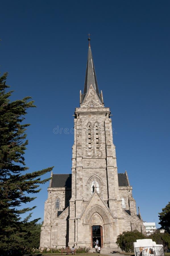 Nahuel Huapi Cathedral - Bariloche - Argentinië royalty-vrije stock afbeelding