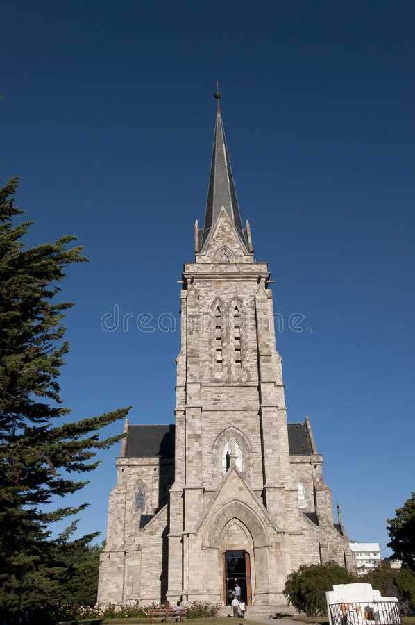 Nahuel Huapi katedra Bariloche, Argentyna - obraz royalty free