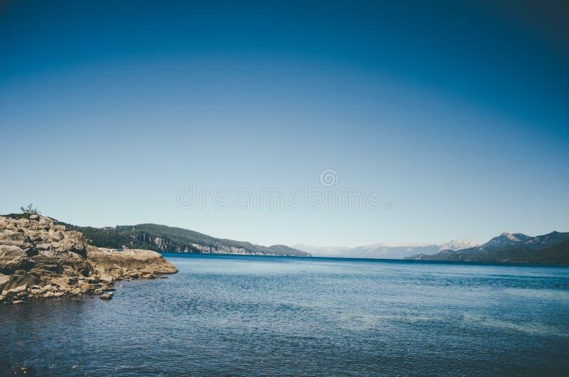 Nahuel Huapi Lake royalty free stock images