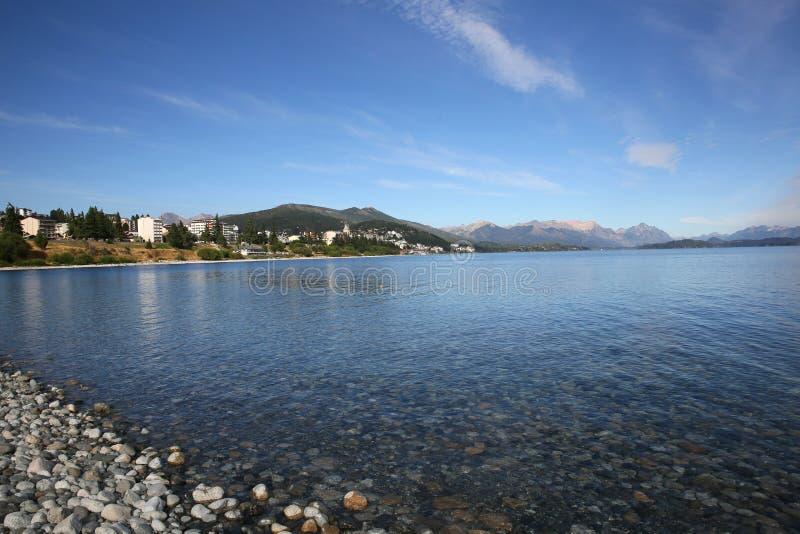 Nahuel Huapi See und San Carlos de Bariloche lizenzfreies stockfoto