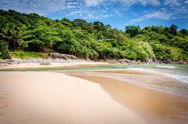 Nai哈恩海滩在泰国 库存照片