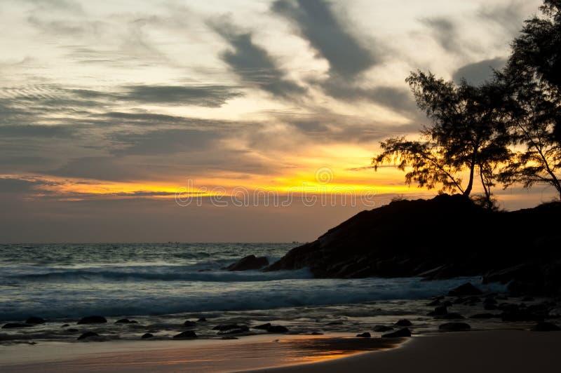nai han 2011 пляжа стоковое изображение rf