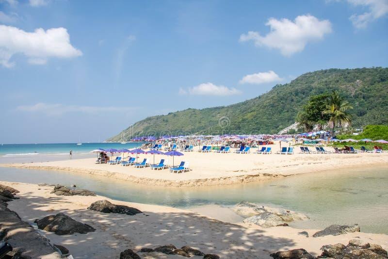 Nai Harn παραλία στοκ εικόνες