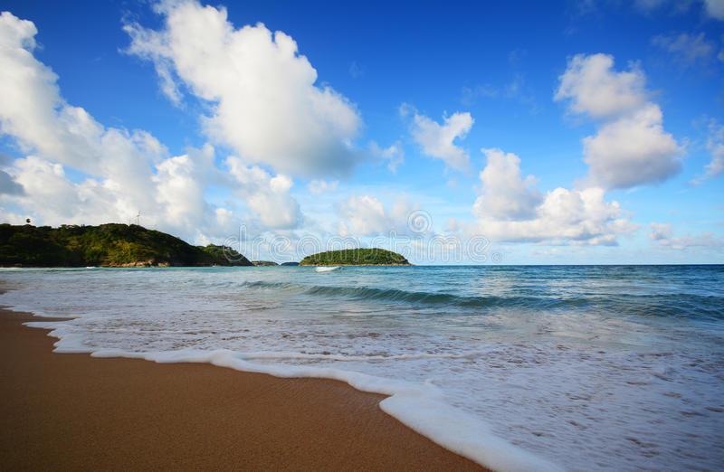 Nai Harn Beach foto de archivo libre de regalías