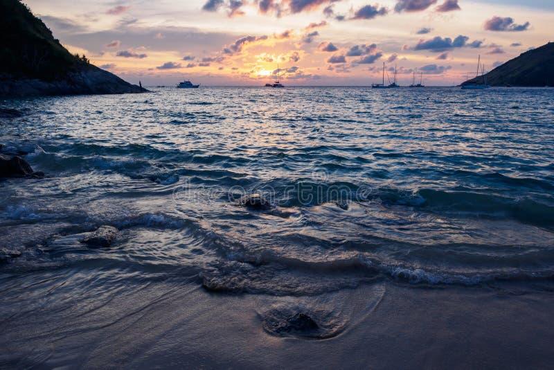Nai Harn Beach arkivfoton