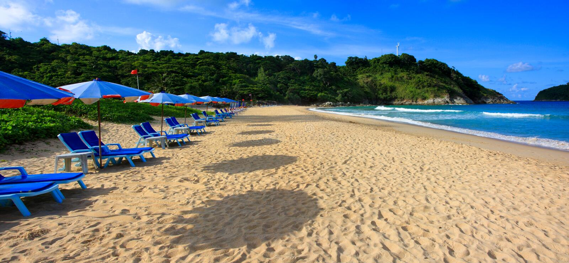 Nai Harn Beach, Phuket, Thailand royalty free stock photo