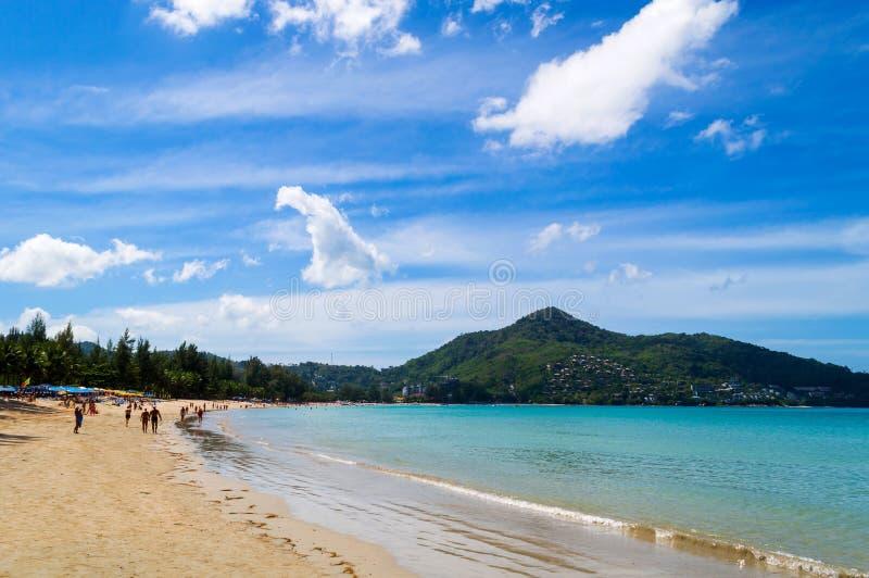 Nai Harn beach in Phuket Thailand royalty free stock image