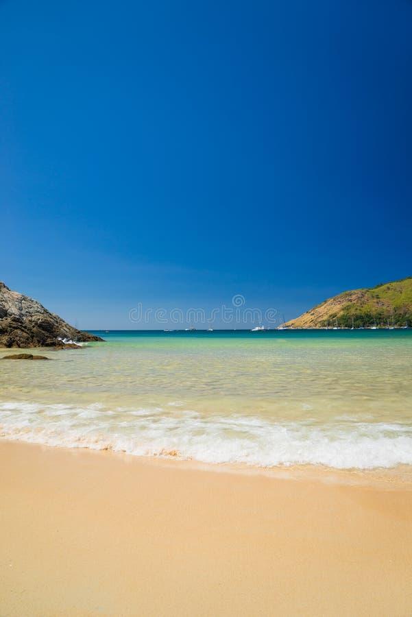 Nai Harn plaża w Phuket obrazy stock