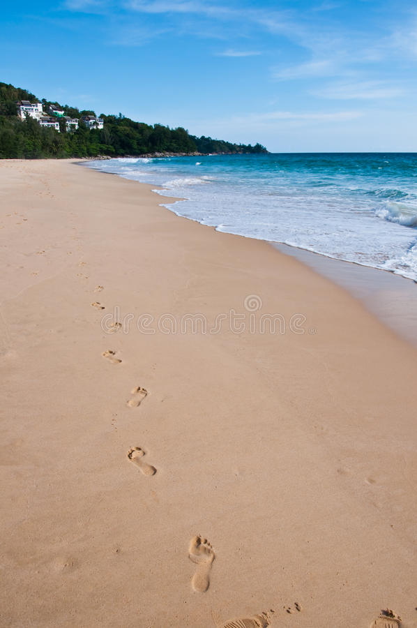 Nai-thon beach @ phuket Thailand stock photos