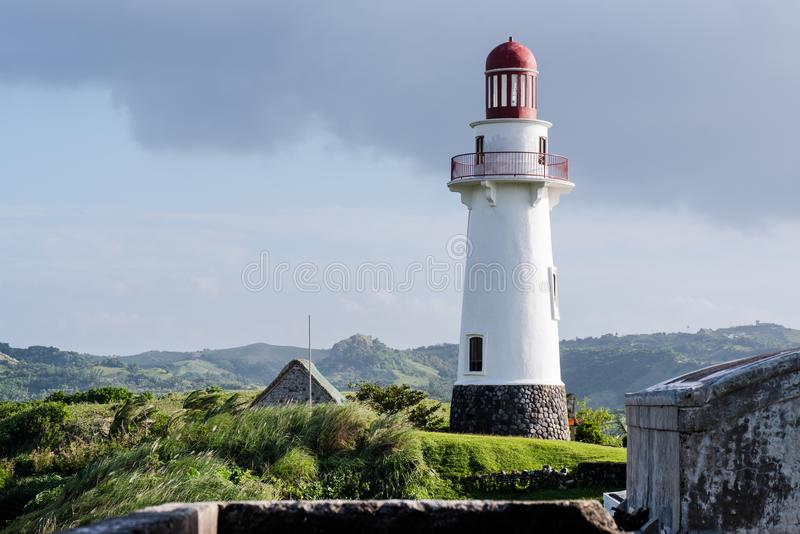 Download Naidivuurtoren, Batanes, Filippijnen Stock Foto - Afbeelding bestaande uit hemel, summer: 107708564