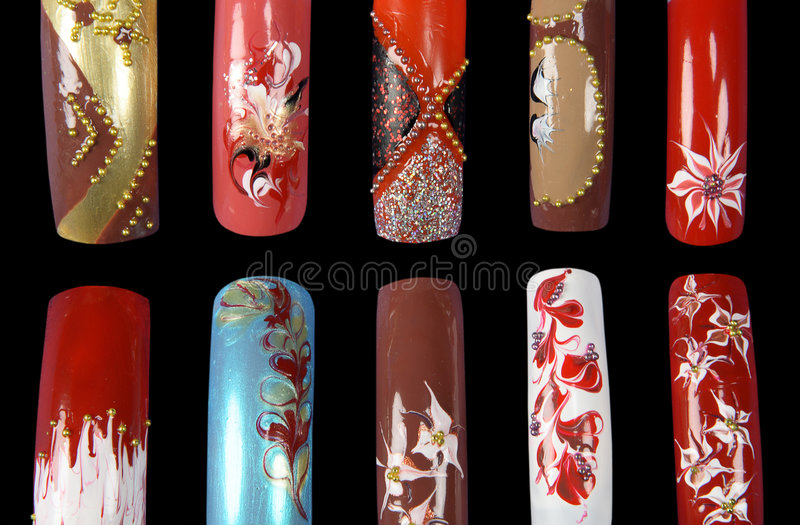 Download Nail art stock image. Image of accessory, fine, enamel - 1359611