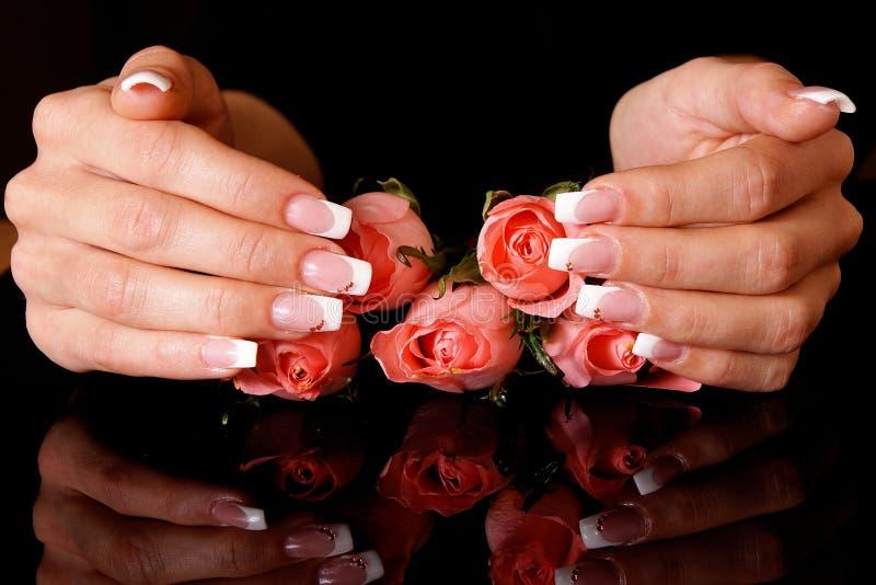 Download Nail art stock image. Image of enamel, girls, fingernails - 17142961
