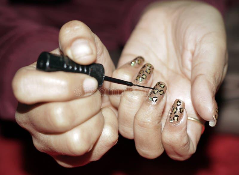 Nail Art Royalty Free Stock Photos