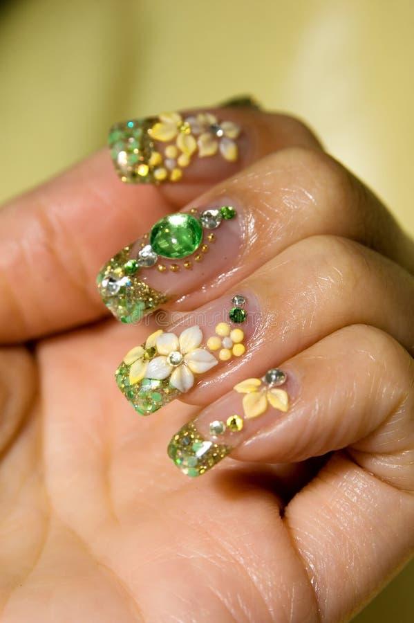 Nail Art. A nail do up art