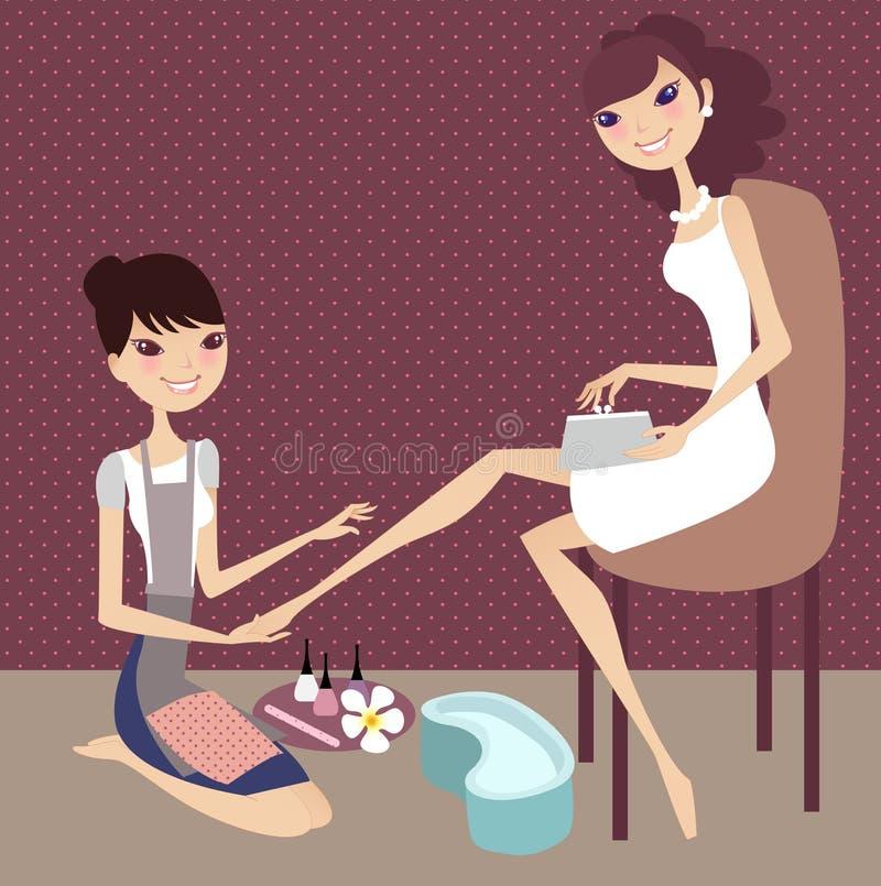 Download Nail art stock vector. Image of nail, female, girls, women - 3019542