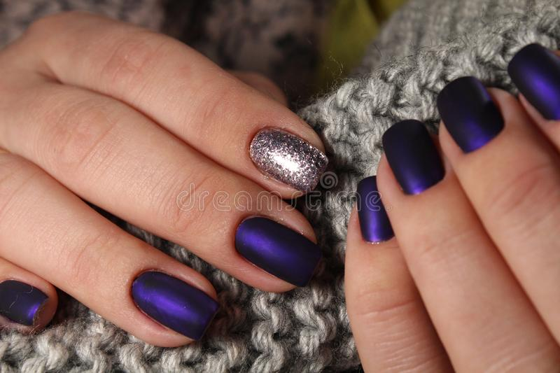 Nail Art Manicure. Beauty Hands. Stock Photo - Image of glamour ...