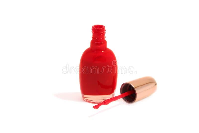 Nail enamel stock photography