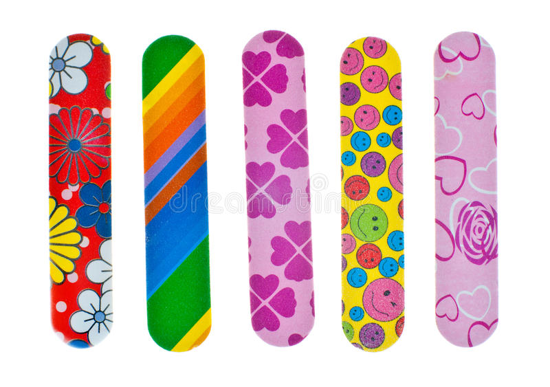 Download Nail files stock image. Image of isolated, beauty, fashionable - 24979627