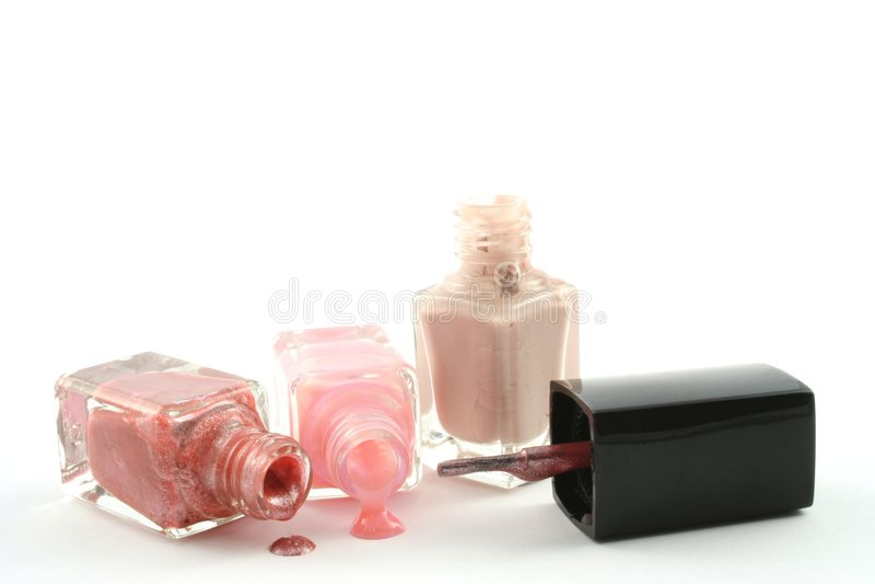 Download Nail Polish stock photo. Image of pink, make, cosmetics - 1403860