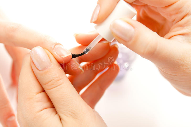 Download Nail polish stock image. Image of isolated, fingernail - 14861891