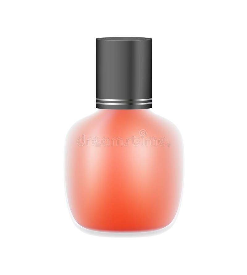 Download Nail polish stock vector. Image of fingernail, lady, bright - 28853559