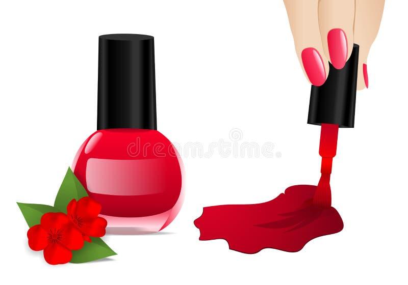 Download Nail polish, cdr vector stock vector. Image of beauty - 22332518