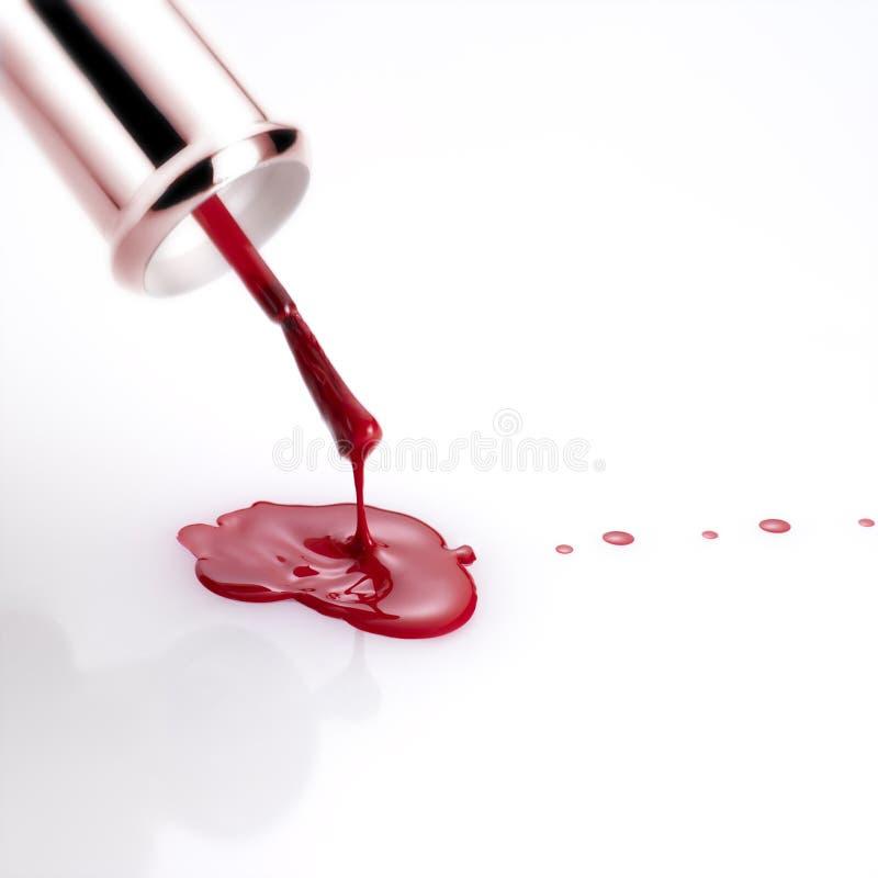 Download Nail Polish Dripping From Brush Stock Photos - Image: 9639773