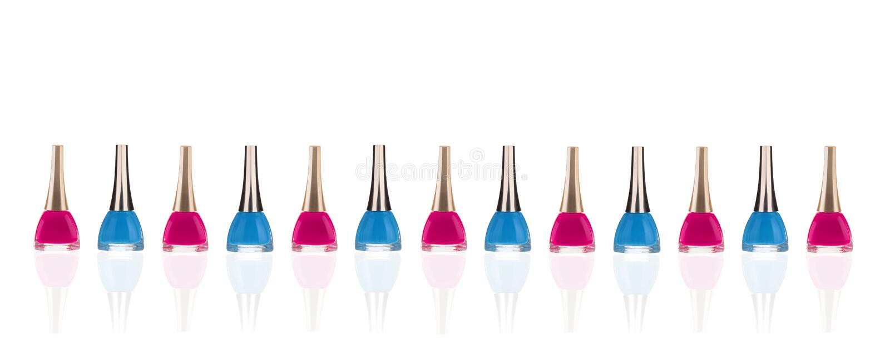 Nail polish royalty free stock image