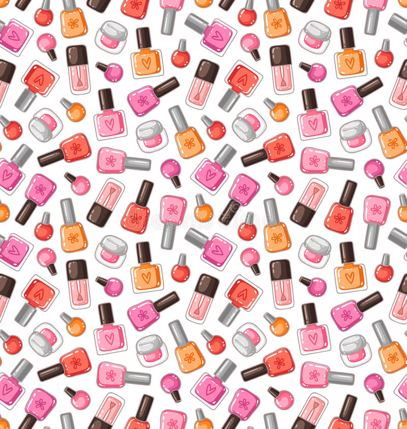 Free Nail Polish Pattern Royalty Free Stock Image - 38830896