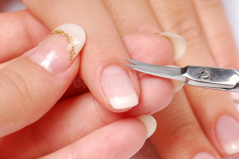 Nail sciccors royalty free stock images