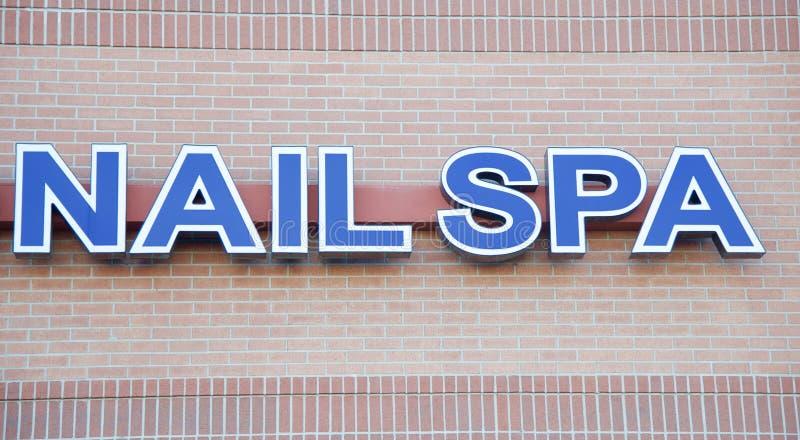 Nail Spa House stock photography