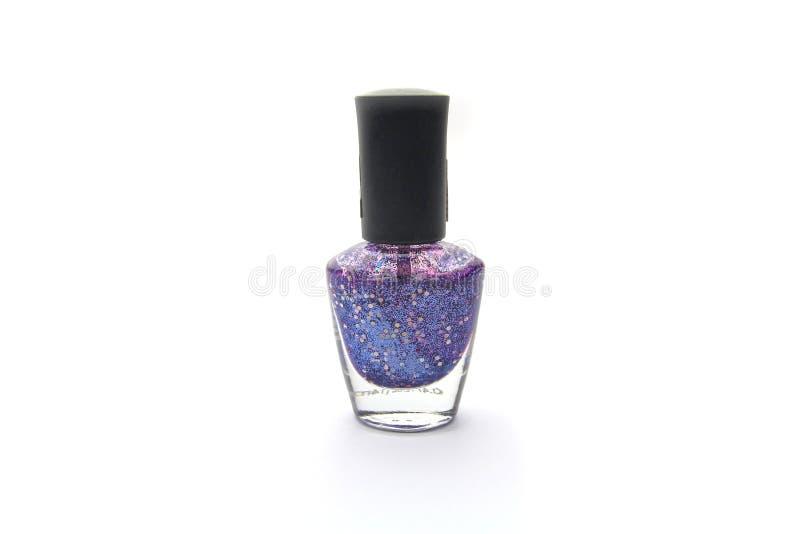 Nail vanish. Isolated on white background royalty free stock image