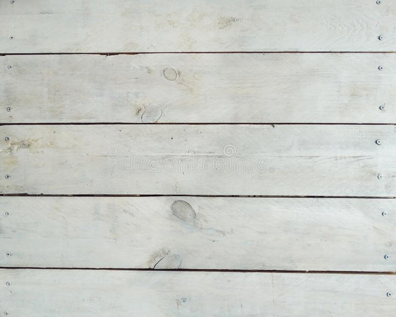 Vintage White Timber Wood Plank Texture Background royalty free stock photos