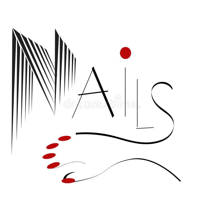 Nails stock illustration