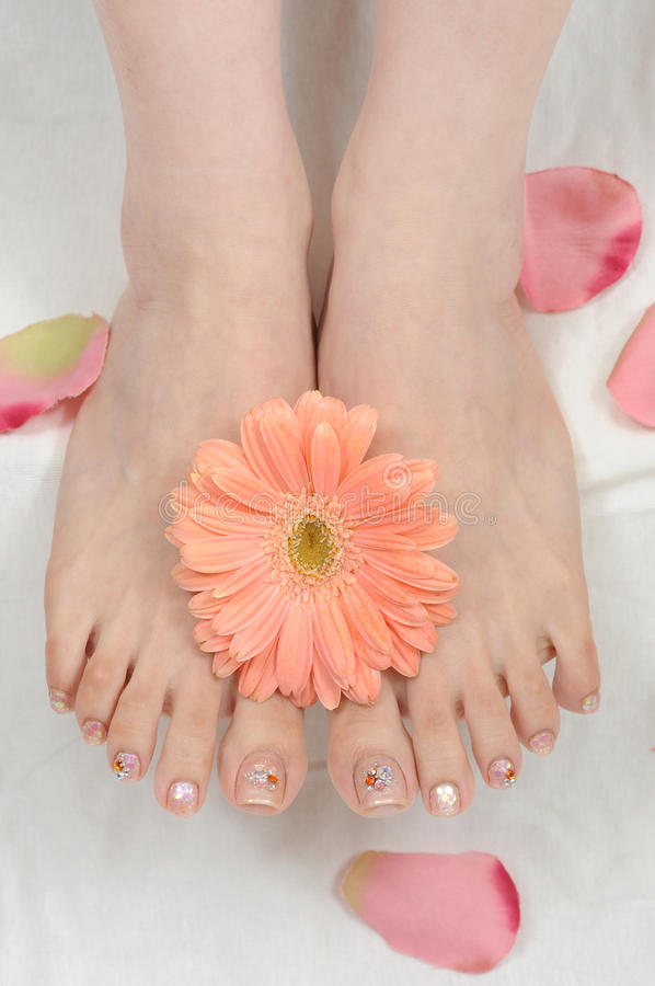 Download Nails stock image. Image of female, hands, beauty, foot - 14394673