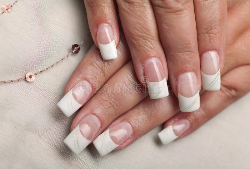 Nails royalty free stock images