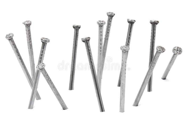 Download Nails stock image. Image of isolated, metal, close, bolt - 26330121