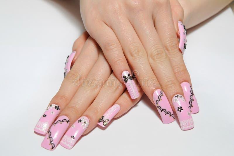 Nails royalty free stock photography