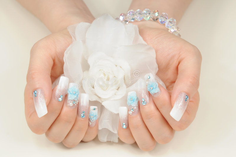Download Nails stock photo. Image of fancy, beauty, holds, finger - 9293092
