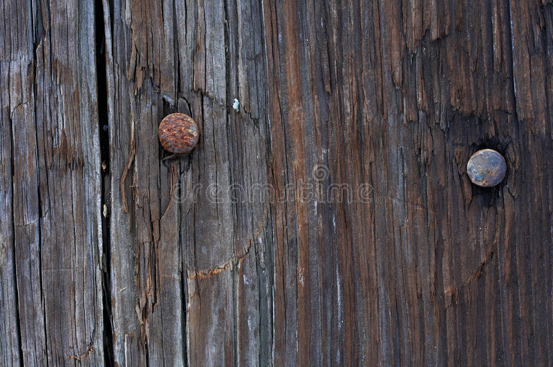 Download Nails And Wood Stock Photo Image Of Hardwood Plank Material