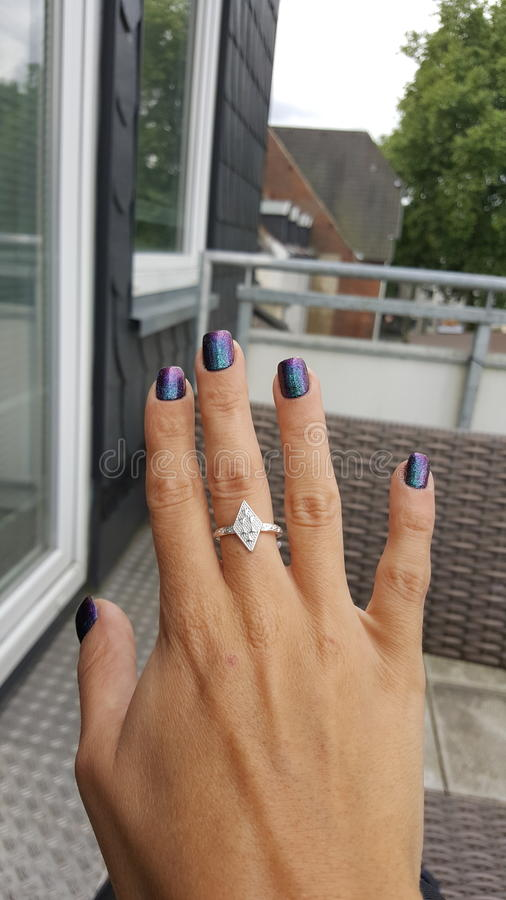 Nailtrends Allemagne image stock
