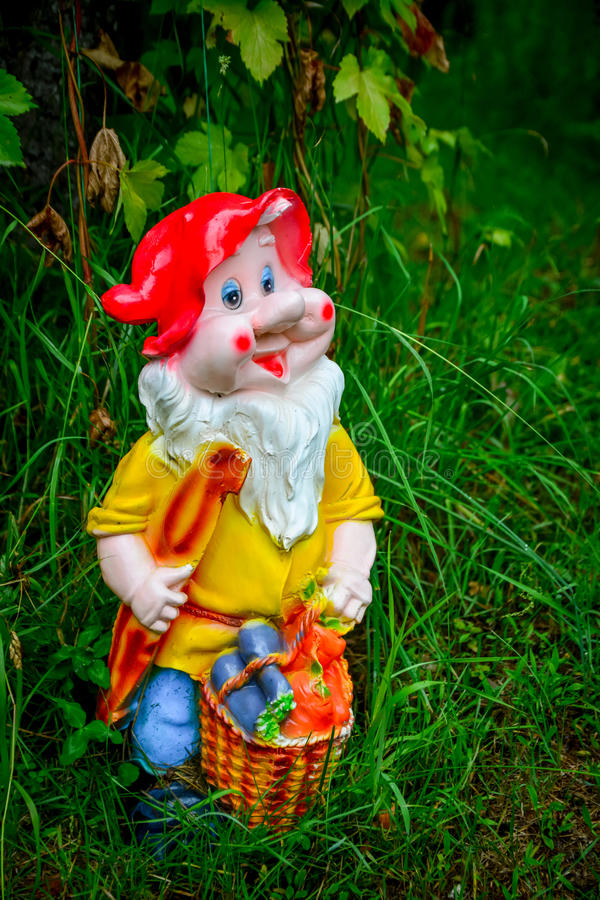 Nain de figurine de porcelaine images stock