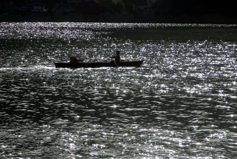Naini jezioro obrazy royalty free