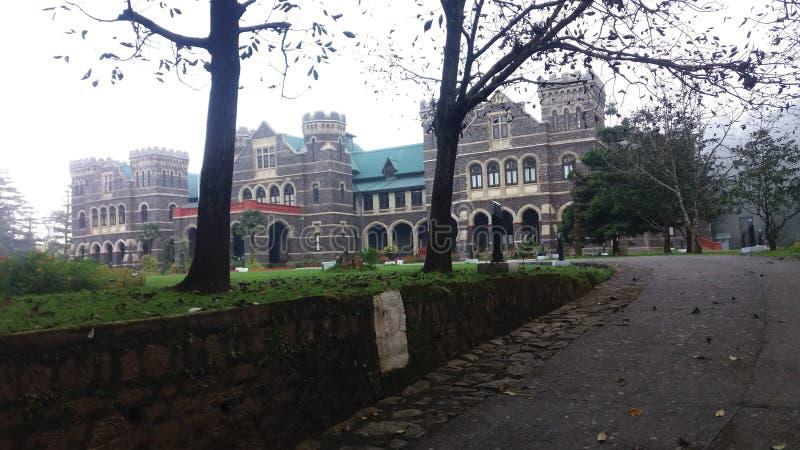 Nainital Raj Bhavan imagens de stock royalty free