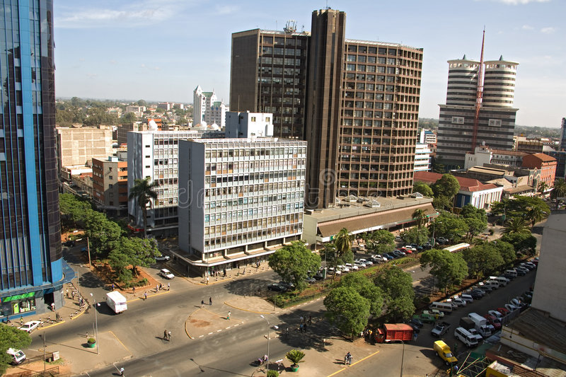 Nairobi 001 stock foto