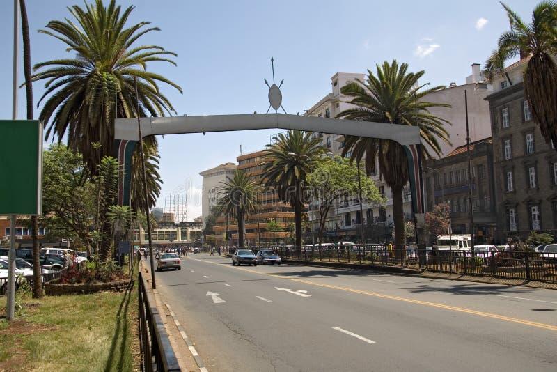 Nairobi 003 stock foto's